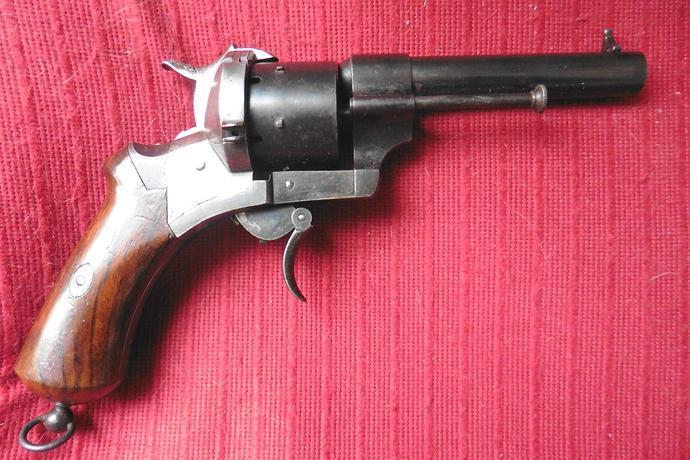 35 - Revolver 9mm Lefaucheux TA - LF 10515 (2)