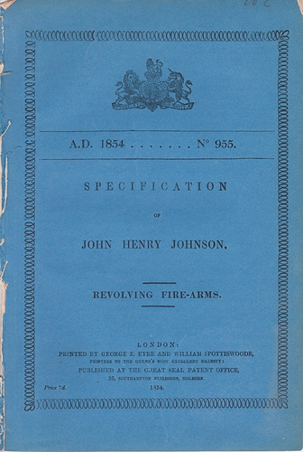 Lefaucheux_1854_British_patent_1