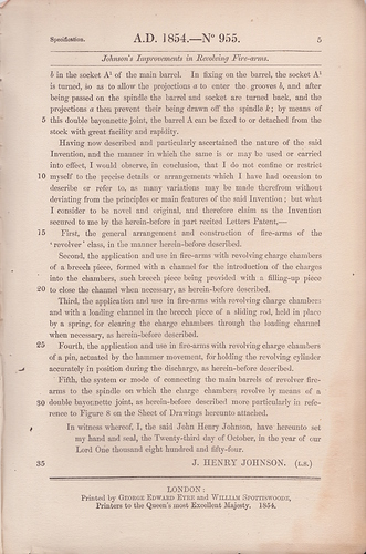 Lefaucheux_1854_British_patent_6