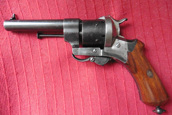 35 - Revolver 9mm Lefaucheux TA - LF 10515