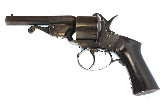 9mm Javelle patent pinfire revolver