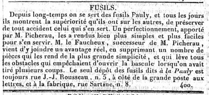 Le Constitutionnel 14 mars 1828
