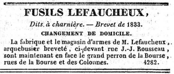 Le Constitutionnel 10 août 1833