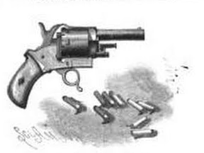 2mm Pinfire Revolver by Victor Bovy
