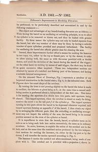 Javelle British Patent no. 1362 from 1861