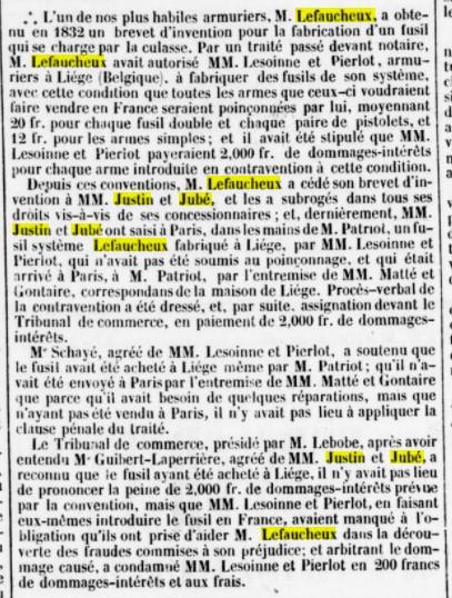 1837 - procès